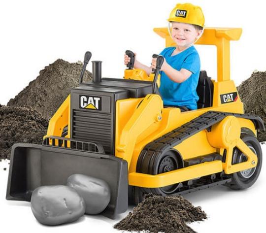KidTrax CAT Bulldozer pm