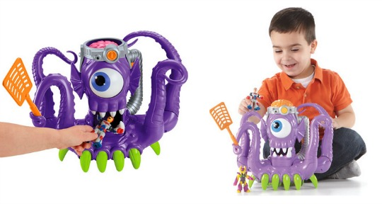 imaginext alien tentaclor pm