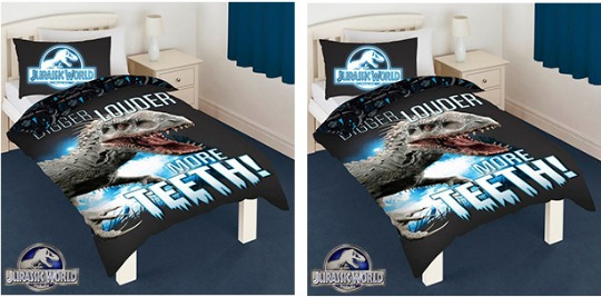 jurassic world duvet cover pm
