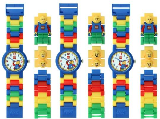 lego minifigures watch