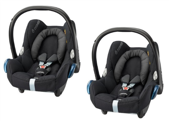 Maxi Cosi CabrioFix Infant Carrier In Black Raven 9999 John Lewis Amazon