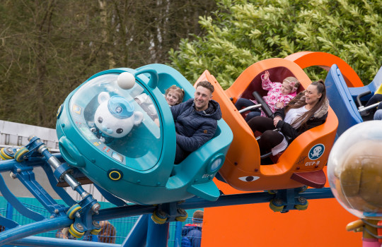 Alton Towers Octonauts Ride