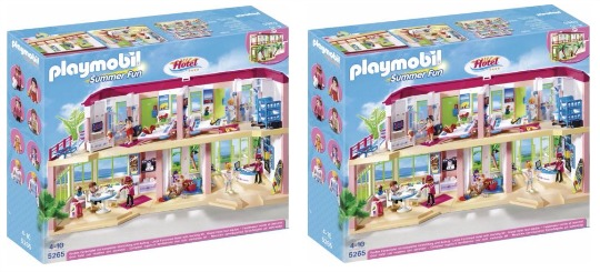 playmobil large hotel pm