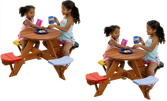 plum picnic table