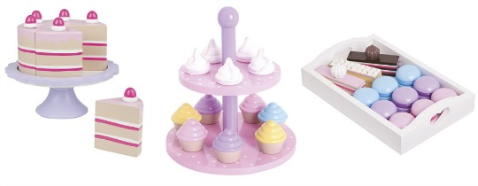 wooden cake sets jojo pm