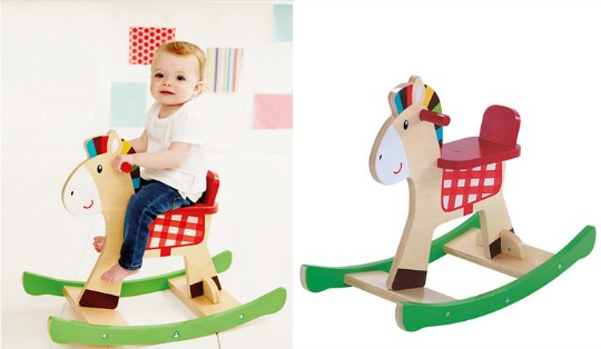 wooden rocking horse elc pm