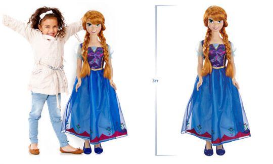 3 foot tall anna doll pm