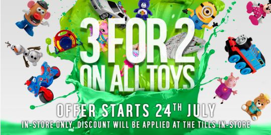 argos 3 for 2 toys pm