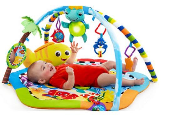 baby einstein rhythm of the reef play gym pm