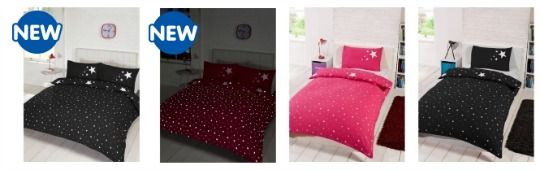 b&m glow in the dark duvets pm