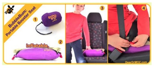 bubblebum booster seat pm
