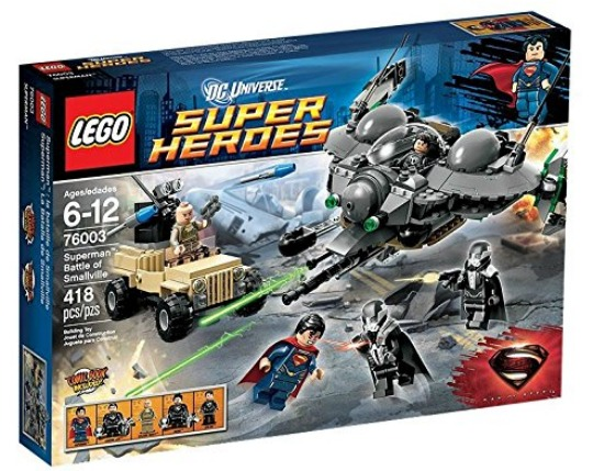 lego dc superheroes superman pm