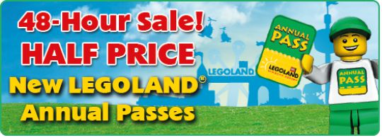 legoland flash sale pm