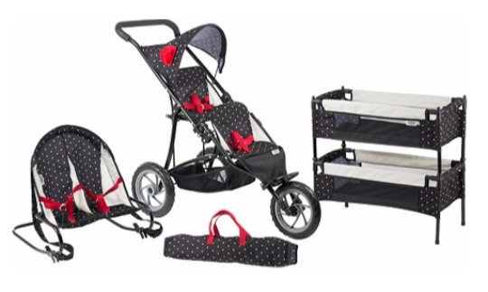 mamas and papas twin stroller pm