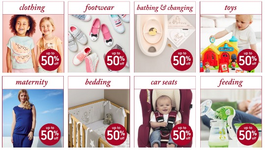 mothercare sale preview banners pm