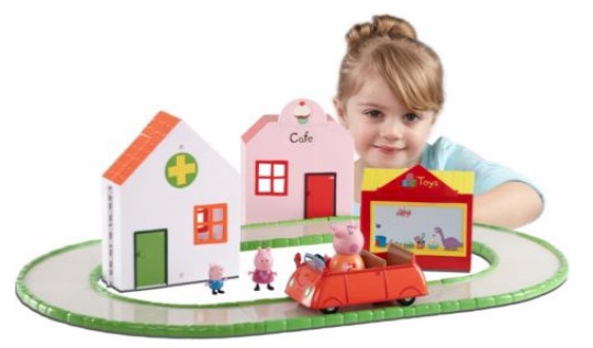 peppa pig shopping set pm