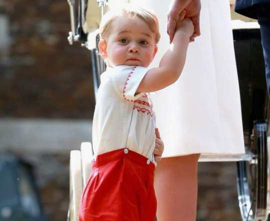 prince george cutie charlottes christening pm