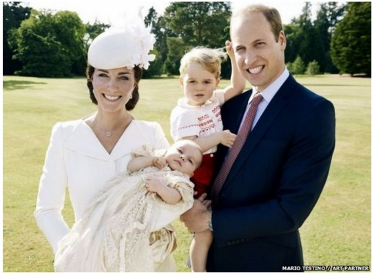 princess charlotte christening official 1 pm