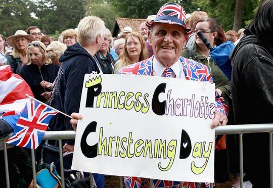 princess charlotte christening pm