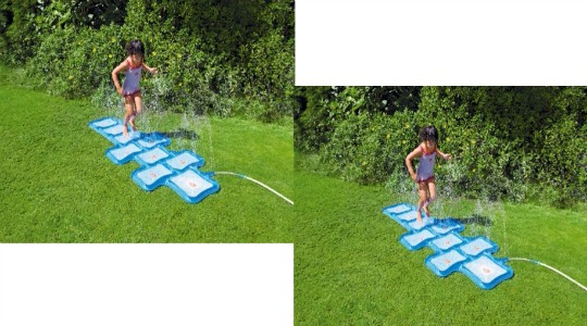 sprinkler hopscotch