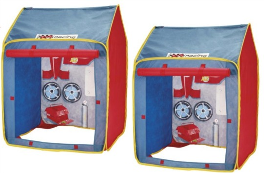 tesco garage play tent