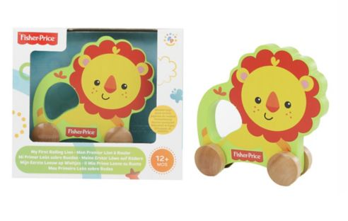 Fisher Price Wooden Lion