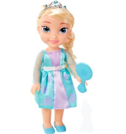 Disney Frozen Elsa Toddler Doll Argos
