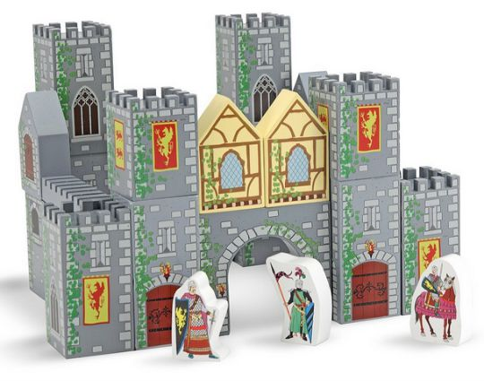 Wooden Castle Blocks pm
