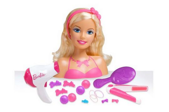 barbie styling head deluxe pm