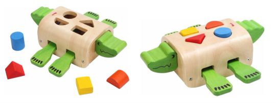 crocodile shape sorter pm
