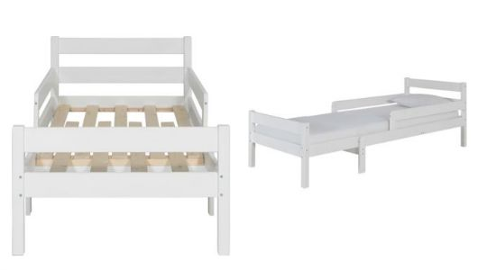 grow with me extendable toddler bed argos. Black Bedroom Furniture Sets. Home Design Ideas