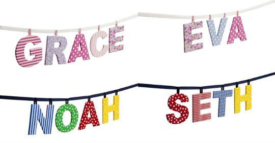 fabric letters jojo pm