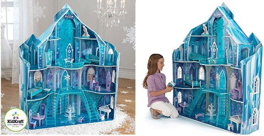 Costco Car Buying >> KidKraft Disney Frozen Snowflake Mansion Dollhouse & Furniture £149.89 Delivered @ Costco