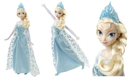 frozen singing elsa doll pm