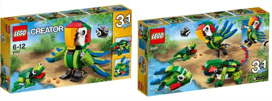 lego creator rainforest pm
