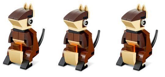 lego mini build kangaroo pm