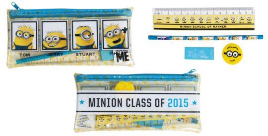 minions filled pencil case pm