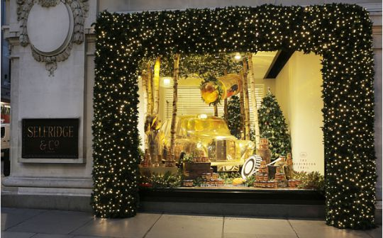selfridges xmas shop 2 pm