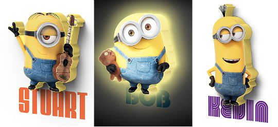 3D Minions Lights pm