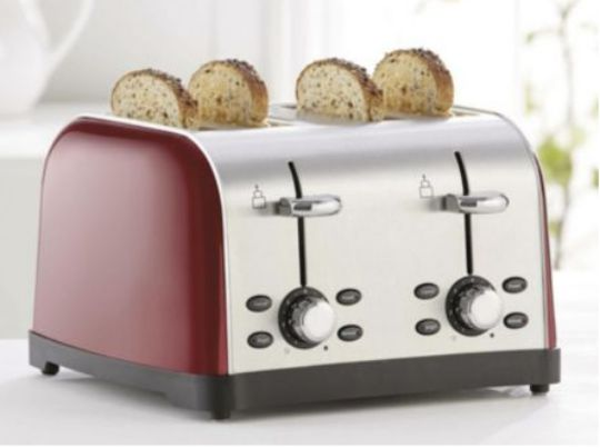 4 slice toaster tesco pm