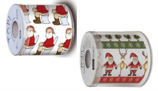 Christmas Toilet Roll