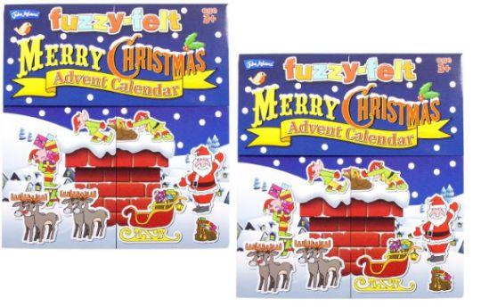 Fuzzy Felt Advent Calendar