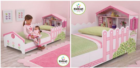 KidKraft Dollhouse Toddler Bed pm