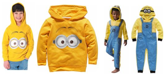 MInions onesie and hoodie pm