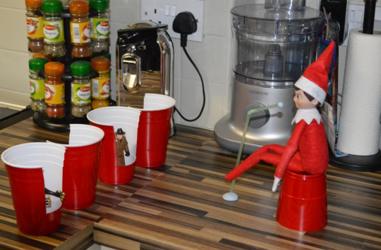 Elf on the Shelf The Voice Audition