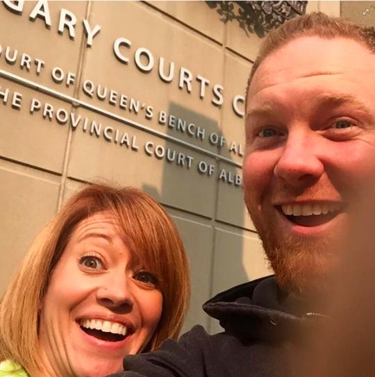 Divorce Selfie