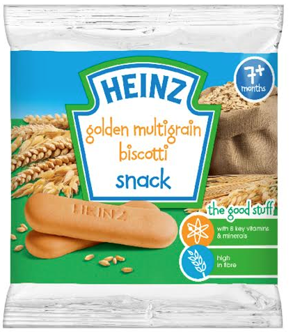 Heinz golden multigrain and chocolate biscotti biscuits not a healthy snack