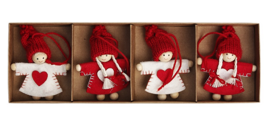 Christmas Friends Decorations Dotcomgiftshop