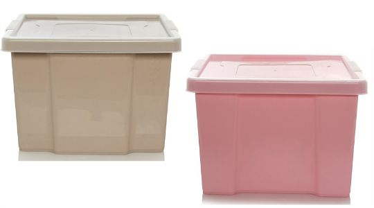 EXPIRED ASDA 27L Storage Box And Lid Various Colours 2 Asda George