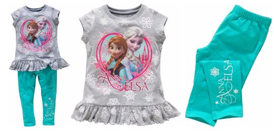 frozen top & leggings pm